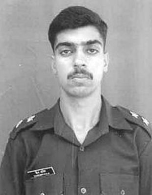 Capt Sourabh Kalia, 4 Jat Regiment