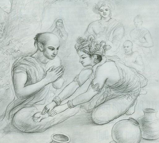 Lord Krishna introduced Himself to Yudhisthira