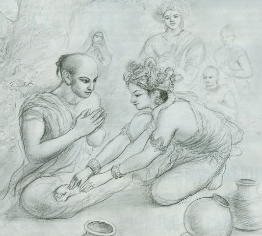 Lord Krishna introduced Himself to Yudhisthira