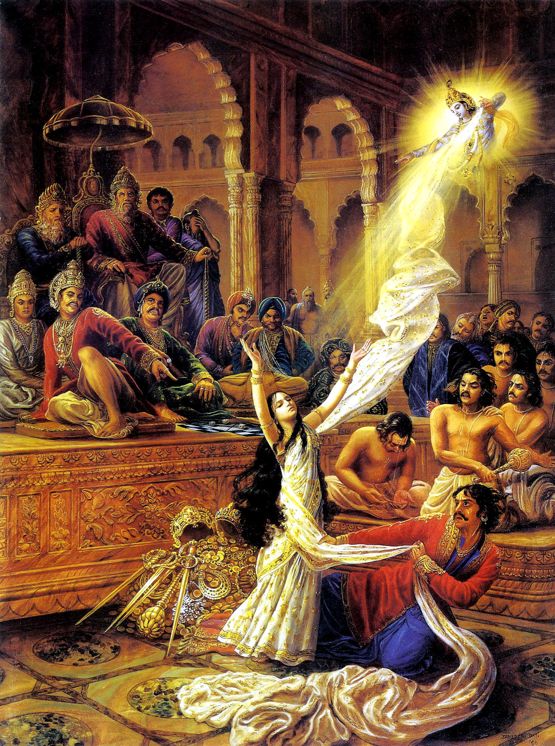 draupadi and krishna relationship